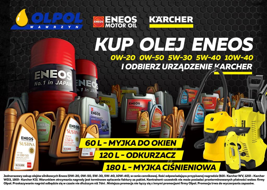 Promocja Eneos i Karcher