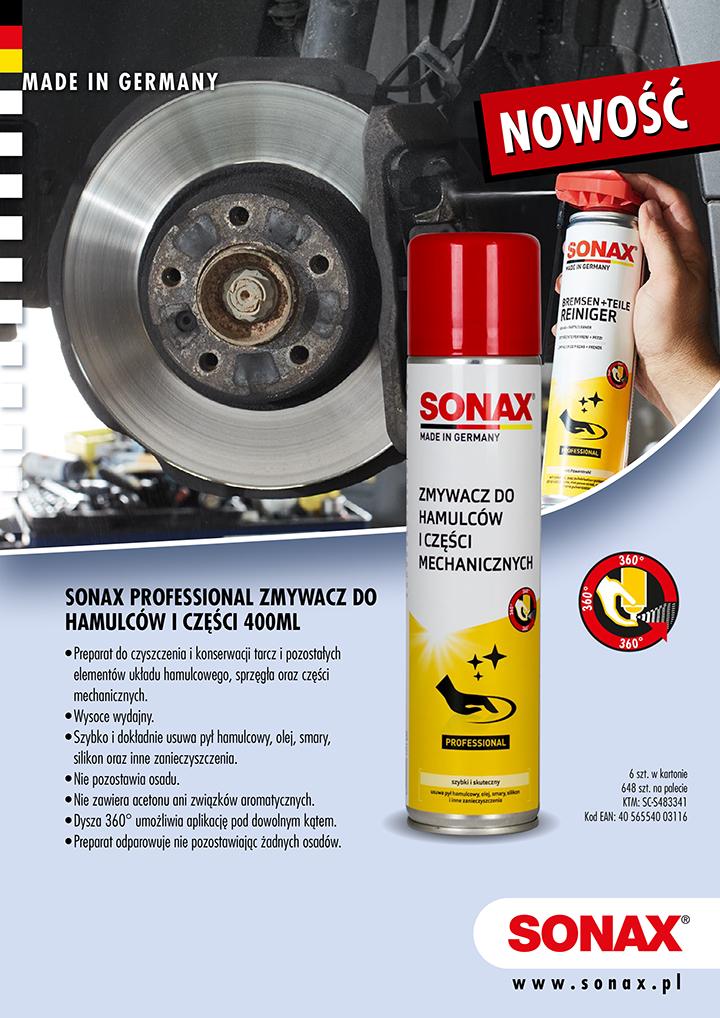 SONAX 483341 Zmywacz do hamulców